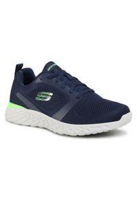 skechers - Skechers Sneakersy 8790086 Granatowy. Kolor: niebieski