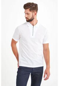 Koszulka polo Emporio Armani polo, w jednolite wzory