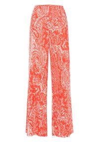 Czerwone spodnie bonprix paisley