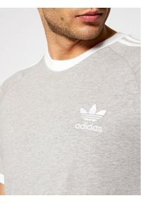 Adidas - adidas T-Shirt adicolor Classics 3-Stripes GN3493 Szary Slim Fit. Kolor: szary