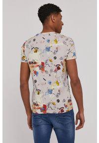 medicine - Medicine - T-shirt SketchBook. Kolor: beżowy. Materiał: bawełna, dzianina