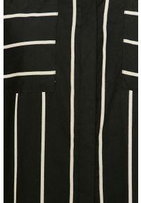 Czarna koszula only casualowa, z klasycznym kołnierzykiem