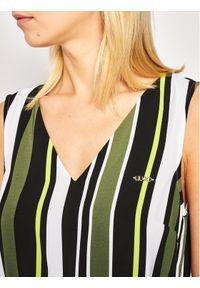 Zielona sukienka Liu Jo casualowa, na co dzień #5