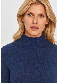 Niebieski sweter MAX&Co. długi, melanż