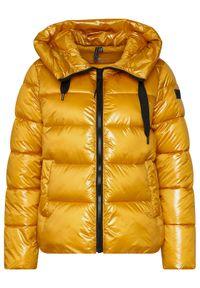 Żółta kurtka puchowa CMP
