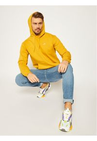 Fila Bluza Edison 687472 Żółty Regular Fit. Kolor: żółty