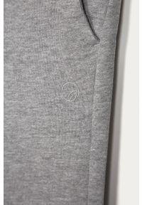 Szare spodnie dresowe OVS melanż