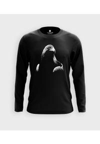 MegaKoszulki - Koszulka męska z dł. rękawem Orzeł 3D. Materiał: bawełna