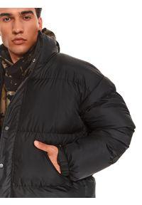 TOP SECRET - Pikowana kurtka typu puffer. Kolor: czarny