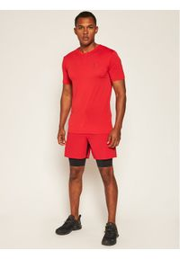 Czerwona koszulka sportowa salomon