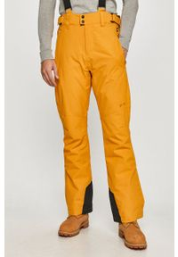 Protest - Spodnie. Okazja: na co dzień. Kolor: pomarańczowy. Materiał: materiał. Styl: casual
