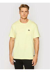 Puma T-Shirt Rudolph Dassler Legacy Graphic 530611 Żółty Relaxed Fit. Kolor: żółty