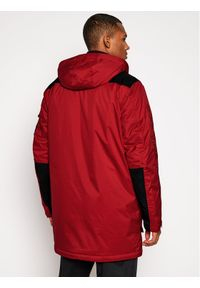 Czerwona kurtka zimowa Vans