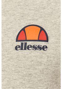 Szara bluza rozpinana Ellesse z kapturem, casualowa