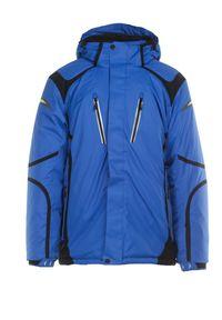Niebieska kurtka przeciwdeszczowa Born2be