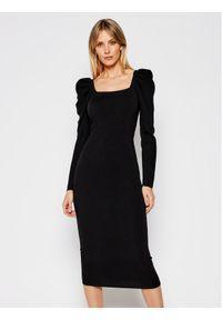 Czarna sukienka dzianinowa My Twin
