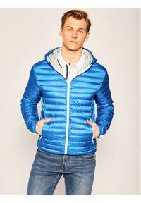 Niebieska kurtka puchowa Colmar