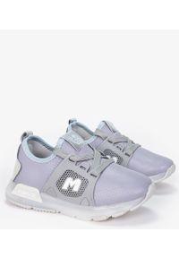Casu - Szare buty sportowe sznurowane casu b331/7. Kolor: szary