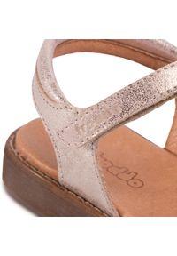 Złote sandały Froddo z aplikacjami, na co dzień, casualowe #7