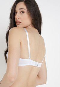 Born2be - Biały Biustonosz Aquanella. Kolor: biały