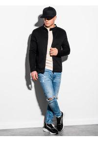Czarna bluza Ombre Clothing bez kaptura #5