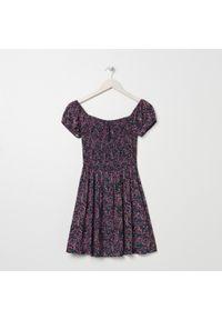 Czerwona sukienka Sinsay mini