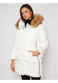 Biała kurtka puchowa Weekend Max Mara