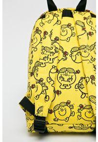 Żółty plecak Mi-Pac z nadrukiem