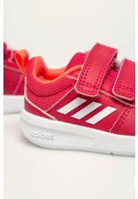 Buty sportowe Adidas z cholewką, z okrągłym noskiem, na rzepy