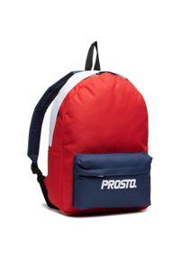 Czerwona torba na laptopa Prosto.