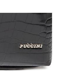 Czarna torebka klasyczna Puccini #5