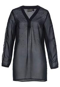 Czarna bluzka bonprix elegancka