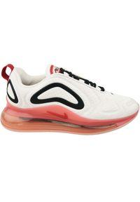 Różowe buty sportowe Nike z cholewką