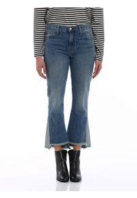 Jeansy J BRAND (Outlet). Stan: podwyższony. Kolor: niebieski. Materiał: jeans