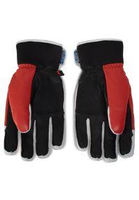Czarne rękawiczki sportowe Reusch snowboardowe