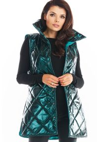 Zielona kurtka pikowana Awama