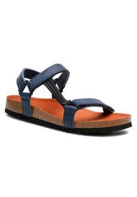 Niebieskie sandały Scholl