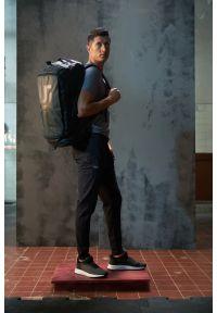 4f - Torba sportowa 2w1 RL9 x 4F. Kolor: czarny. Materiał: materiał. Wzór: nadruk
