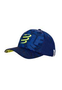 Żółta czapka Compressport casualowa