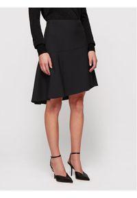 Czarna spódnica mini BOSS