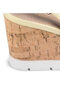 Żółte sandały Clara Barson