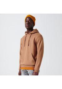 Cropp - Bluza z kapturem - Beżowy. Typ kołnierza: kaptur. Kolor: beżowy #1