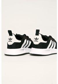 Czarne buty sportowe adidas Originals Adidas X_plr, na sznurówki, z cholewką