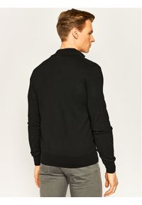 EA7 Emporio Armani Sweter 8NPEZ1 PM62Z 1200 Czarny Regular Fit. Kolor: czarny
