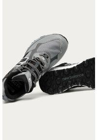 Szare sneakersy New Balance z cholewką, na sznurówki