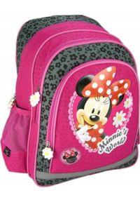 Patio Plecak Szkolny Myszka Minnie Różowy A4 Oryginał. Kolor: różowy. Wzór: motyw z bajki