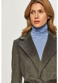 Szary płaszcz MAX&Co. bez kaptura, klasyczny, na co dzień #6