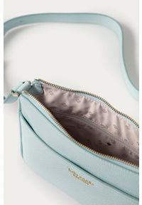 Kate Spade - Torebka skórzana. Kolor: niebieski. Materiał: skórzane. Rodzaj torebki: na ramię #4