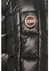 Czarna kurtka Colmar casualowa, na co dzień, z kapturem
