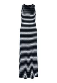 Superdry Sukienka letnia Jersey W8010666A Granatowy Regular Fit. Kolor: niebieski. Materiał: jersey. Sezon: lato